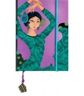souvenirs flamencos - - Libreta mini Bulerías