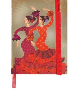 souvenirs flamencos - - Libreta Sevillanas