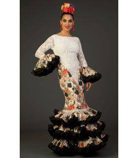 trajes de flamenca 2017 - Aires de Feria - Traje de flamenca Alhambra Estampado 2