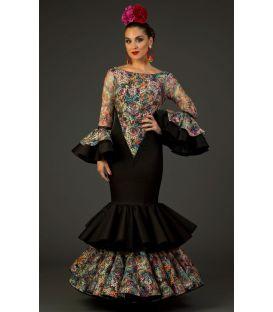 trajes de flamenca 2017 - Aires de Feria - Traje de flamenca Reina encaje 2