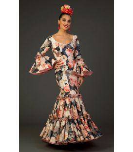 trajes de flamenca 2017 - Aires de Feria - Traje de flamenca Maravilla Estampado