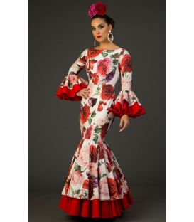 trajes de flamenca 2017 - Aires de Feria - Deseo estampado
