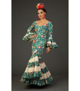 trajes de flamenca 2017 - Aires de Feria - Traje de flamenca Albaicin Floral