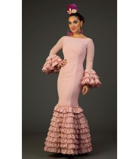 trajes de flamenca 2017 - Aires de Feria - Traje de flamenca Arenal Lunares