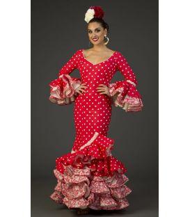trajes de flamenca 2017 - Aires de Feria - Traje de flamenca Camino Lunares