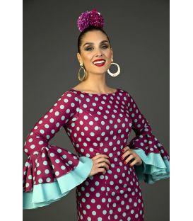 Traje de flamenca Deseo Cardenal
