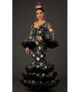 trajes de flamenca 2017 - Aires de Feria - Jaleo Encaje Estampado