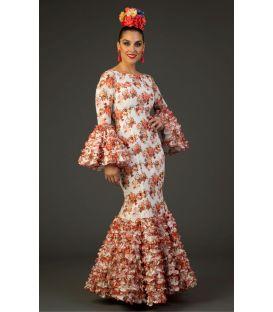trajes de flamenca 2017 - Aires de Feria - Traje de flamenca Salinas Flores