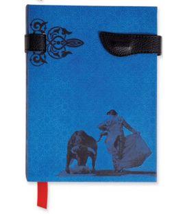 souvenirs flamencos - - Libreta Taurina Azul