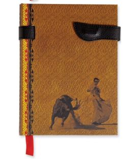 souvenirs flamencos - - Libreta Taurina Mostaza
