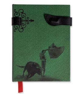 souvenirs flamencos - - Libreta Taurina Verde
