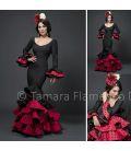 Angela - Rojo y negro