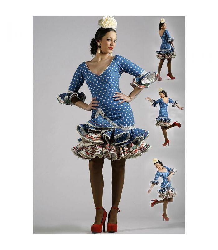 trajes de flamenca 2015 mujer , Roal ,