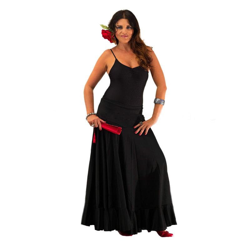 d34672d57 Esa falda flamenca de cuyo movimiento te quedaste prendada cuando la viste  por primera vez tiene truco