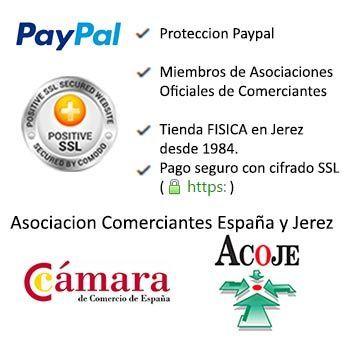 Seguridad compra online Tamara Flamenco